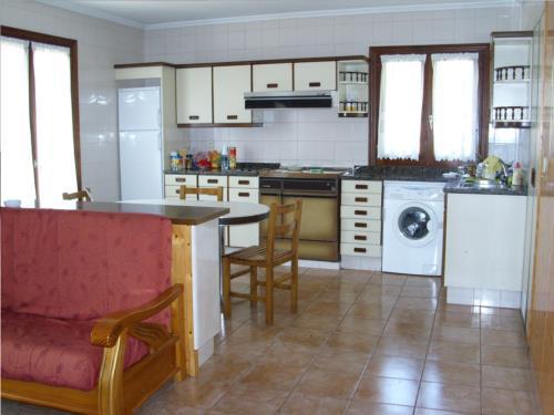 cocina agroturismo Laskin-Enea en Gipuzkoa