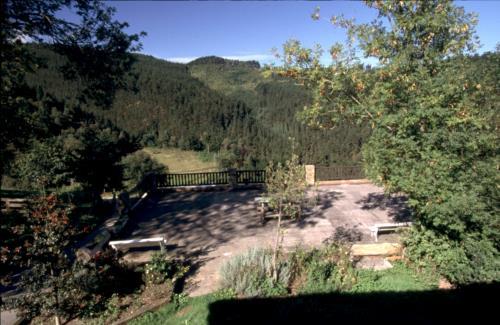 landscape country house koostei in Gipuzkoa