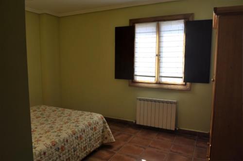 habitación doble 1 agroturismo orubixe en Vizcaya