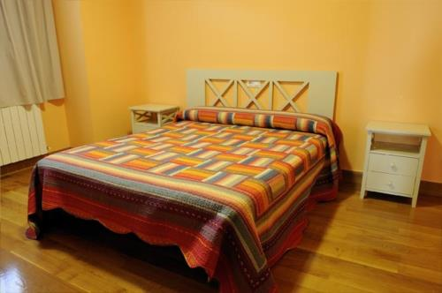 habitación doble 6 agroturismo orubixe en Vizcaya
