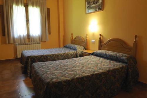 habitación doble 3 agroturismo orubixe en Vizcaya