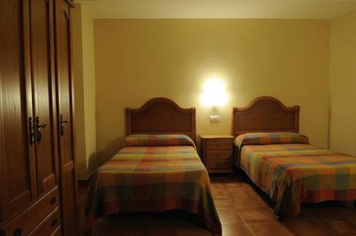 habitación doble 5 agroturismo orubixe en Vizcaya