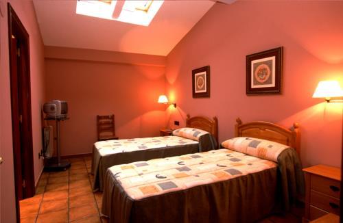 habitación doble 1 casa rural Lierni Garakoa en Gipuzkoa