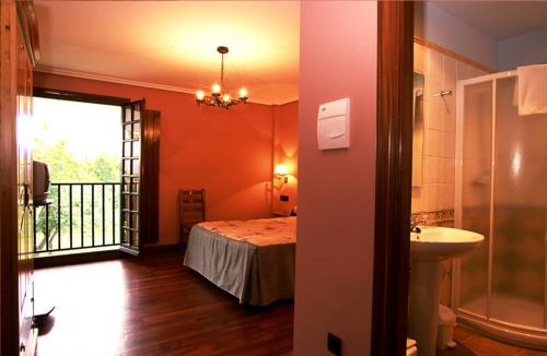 habitación doble casa rural Lierni Garakoa en Gipuzkoa
