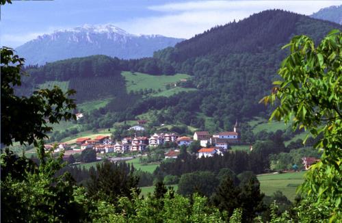 paisaje casa rural Lierni Garakoa en Gipuzkoa