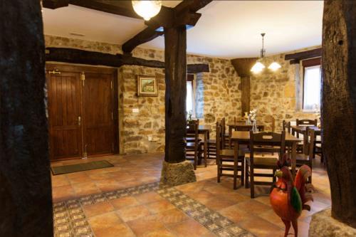 dining room country house irigoien in Gipuzkoa