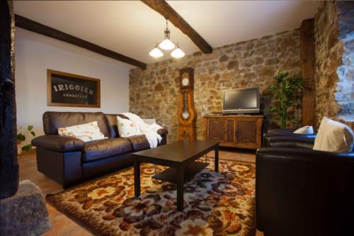 living room country house irigoien in Gipuzkoa