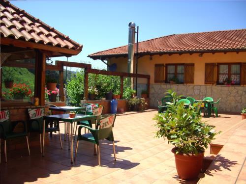 terrace farm house ordaola in Bizkaia