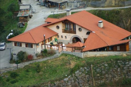 facade farm house ordaola in Bizkaia