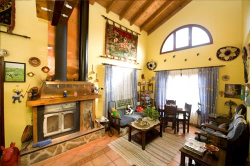 living room farm house ordaola in Bizkaia