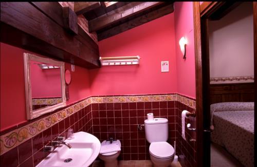 baño casa rural izpiliku en Alava