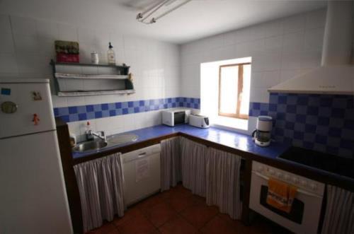 cocina casa rural izpiliku en Alava