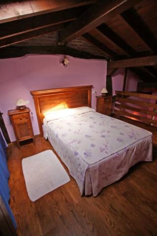 habitación doble casa rural izpiliku en Alava