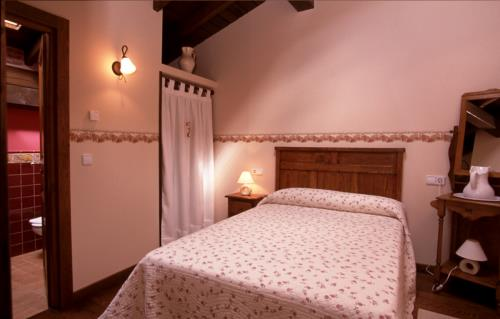 habitación doble 1 casa rural izpiliku en Alava