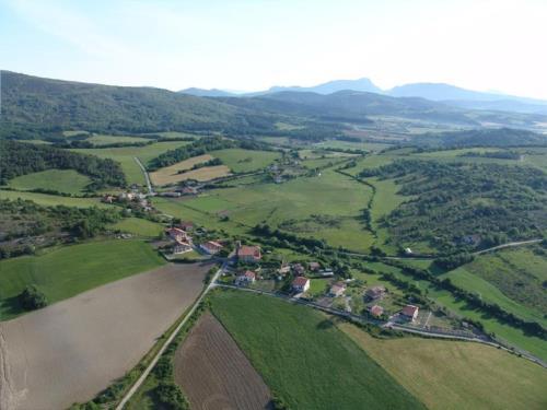 paisaje casa rural izpiliku en Alava
