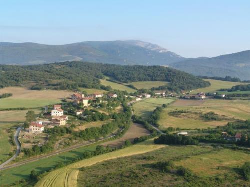 paisaje 1 casa rural izpiliku en Alava