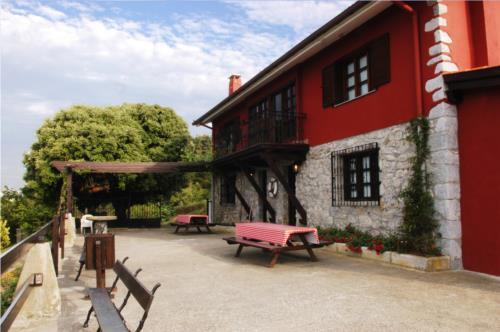 exterior casa rural kurtxia en Vizcaya