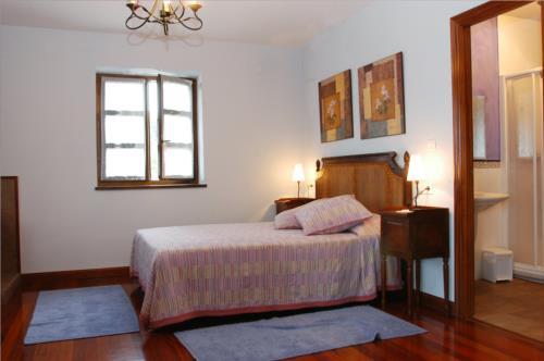 habitación doble casa rural kurtxia en Vizcaya