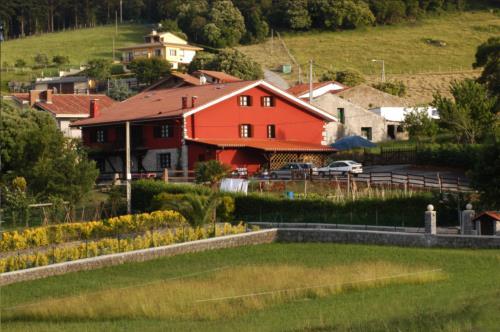 entorno casa rural kurtxia en Vizcaya