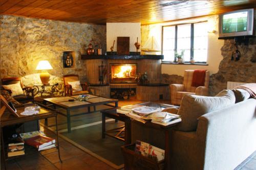 salón casa rural kurtxia en Vizcaya
