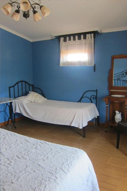 habitación doble 3 agroturismo abaienea en Alava
