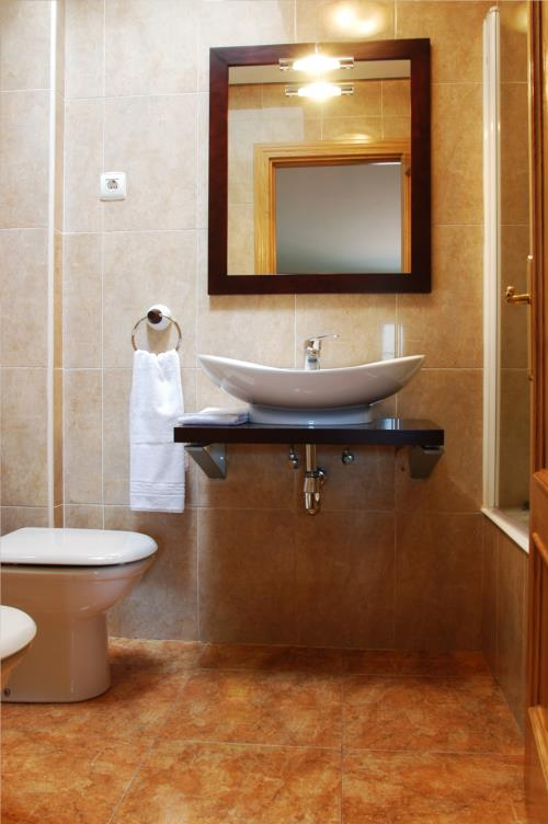 Baño casa rural urdinetxe en Alava