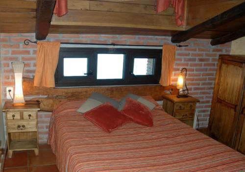 habitación doble agroturismo Maddiola en Gipuzkoa