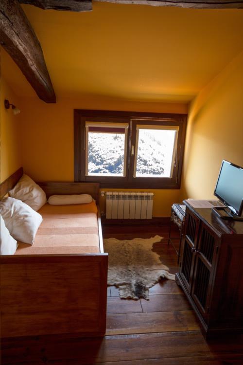 habitación individual casa rural aterbe en gipuzkoa