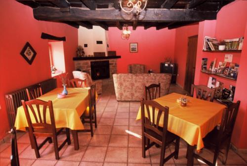 living room country house bentazar in Alava