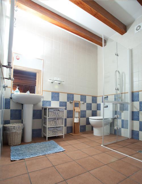 baño agroturismo Enbutegi en Gipuzkoa