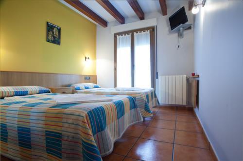 habitación doble 4 agroturismo Enbutegi en Gipuzkoa