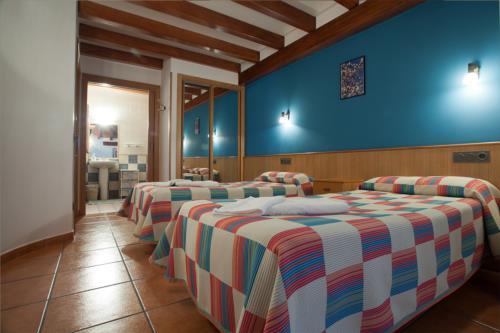 habitación doble 3 agroturismo Enbutegi en Gipuzkoa