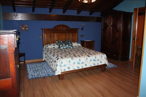 habitación doble 2 agroturismo etxano en Vizcaya