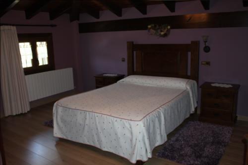 habitación doble 3 agroturismo etxano en Vizcaya