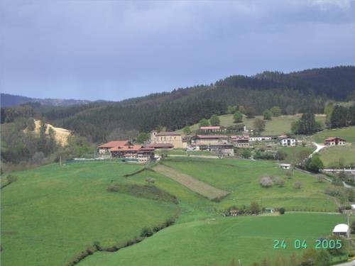 paisaje agroturismo etxano en Vizcaya