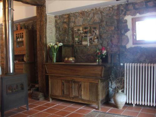 entrada casa rural ametzola en Vizcaya