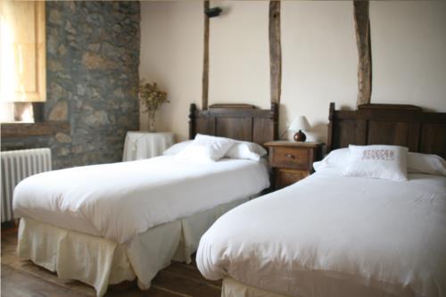 habitación doble 5 casa rural ametzola en Vizcaya