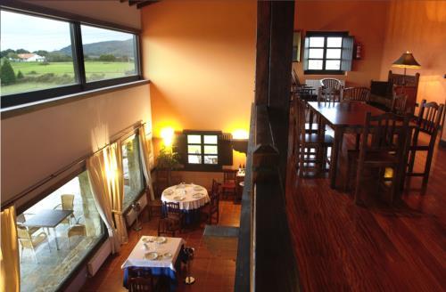 interior casa rural Larrakoetxea en Bizkaia