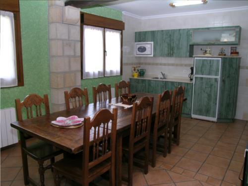 cocina casa rural labeondo en Vizcaya