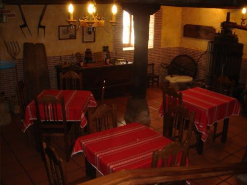 comedor casa rural labeondo en Vizcaya
