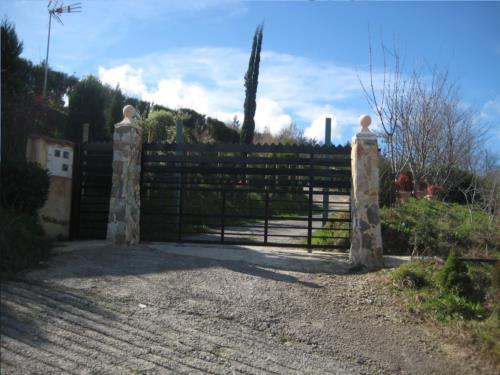 entrada casa rural patxi errege en Vizcaya