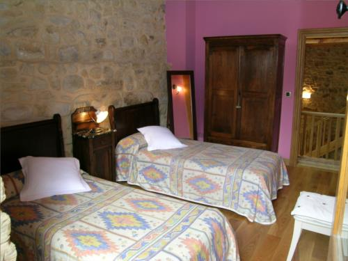 habitación doble 2 casa rural patxi errege en Vizcaya