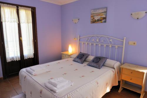 habitación doble 1 agroturismo Itulazabal en Gipuzkoa