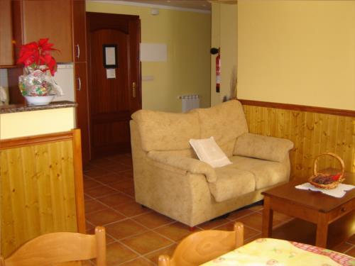 sala apartamento agroturismo Itulazabal en Gipuzkoa