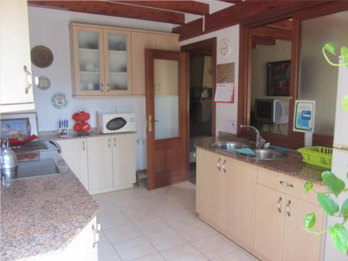 Cocina/comedor casa rural Astobieta/Bizkaia