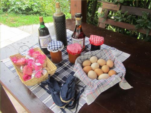 Productos caseros casa rural Astobieta/Bizkaia