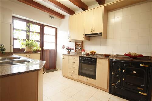 Cocina casa rural Astobieta/Bizkaia