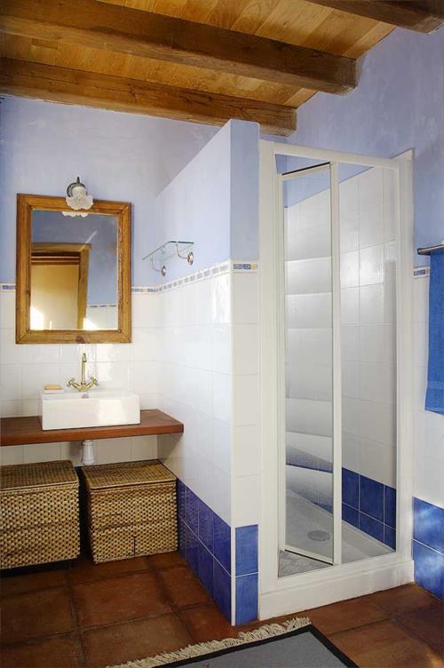 baño agroturismo Igeldo en Gipuzkoa