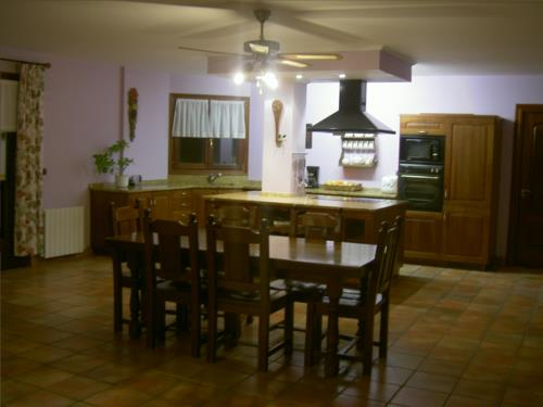 kitchen farm house goiena in Bizkaia