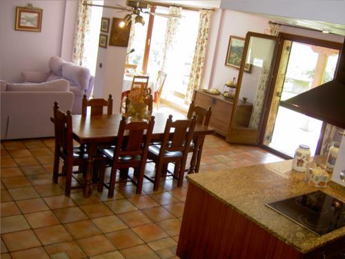 dining room farm house goiena in Bizkaia